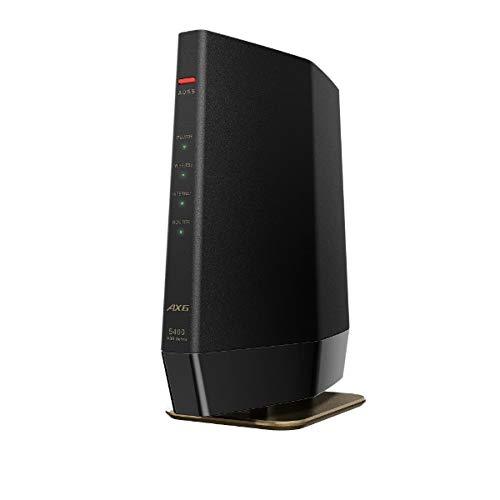 BUFFALO 無線LANルーター AirStation マットブラック WSR-5400AX6-MB