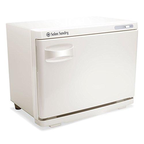 Salon Sundry Professional High Capacity Hot Towel Warmer Cabinet - Facial Spa and Salon Equipment - White