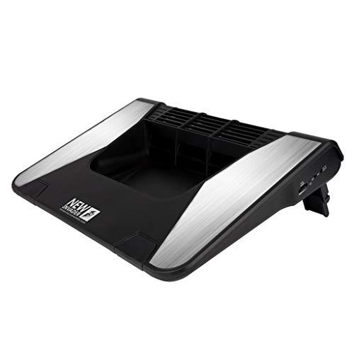 QUD Laptop Cooling Pad Fanless Hoch Airflow Gaming Laptop Cooling Pad Einstellbare Windgeschwindigkeit Notebook Cooler Allgemein Cool Down 10-20 ℃ 20/3/17