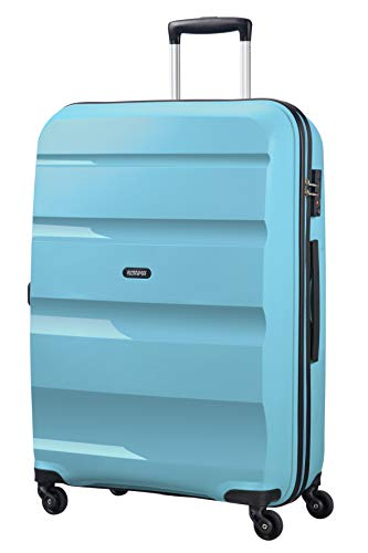American Tourister Bon Air - Spinner Large Equipaje de Mano, 75 cm, 91 Liters, Azul (Blue Topaz)