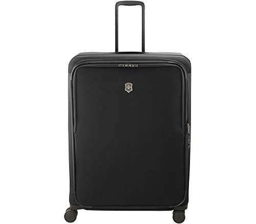 Victorinox Connex Softside Spinner Luggage, Black, Checked-X-Large (32')