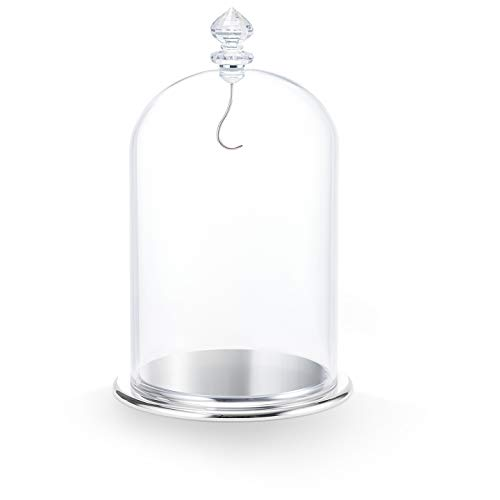 SWAROVSKI Bell, Large Display Jar, One Size, Silver