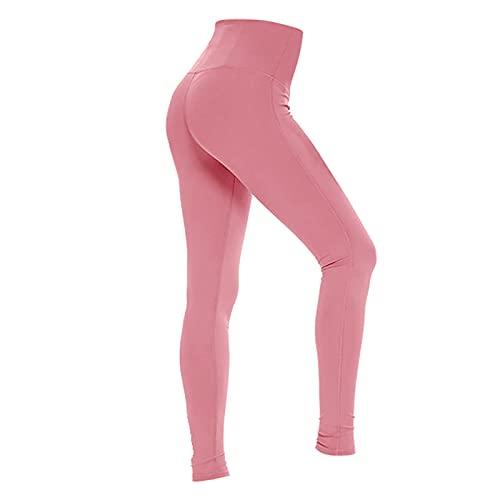 Pantalones de entrenamiento de cintura alta para mujer, fitness, deporte, running, pantalones de yoga ajustados con control del vientre leggings de Butín adelgazante