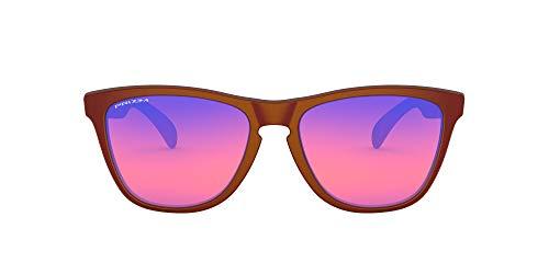 Oakley Oo9245f Frogskins Gafas de sol rectangulares de ajuste asiático