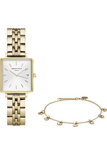 Rosefield Reloj Analógico para Mujer de con Correa en Acero Inoxidable BMWLBG-X241