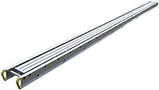 Werner 2424 500-Pound Duty Rating Two-Person Aluminum Scaffold Plank, 14-Inch Wide by 24-Feet Long