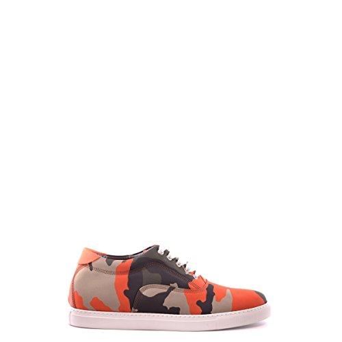 Dsquared2 scarpe sneakers uomo in nylon nuove camouflage verde