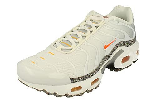 Nike Juniors Tuned 1 Air Max Plus TN (GS) - DB1556 100 - Bianca Total Arancia, Bianco (bianco), 39 EU