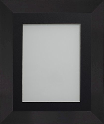 Frame Company Carlton Range 18X14-Inch Black Picture Photo Frame with Mount...