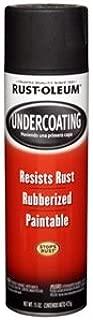 Rust-Oleum 15 Oz Black Rubberized Undercoating Spray Paint, Black, 6 Pack