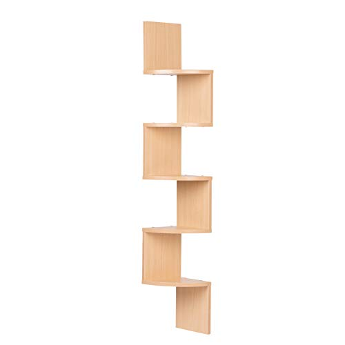 FURINNO Go Green Home Laptop Notebook Computer Desk/Table, Beech/Ivory/White & 99152BE/WH/IV 3-Tier Go Green Multipurpose Storage Rack Shelving Unit Bookshelf Cabinet with 2 Bins, Beech Finish