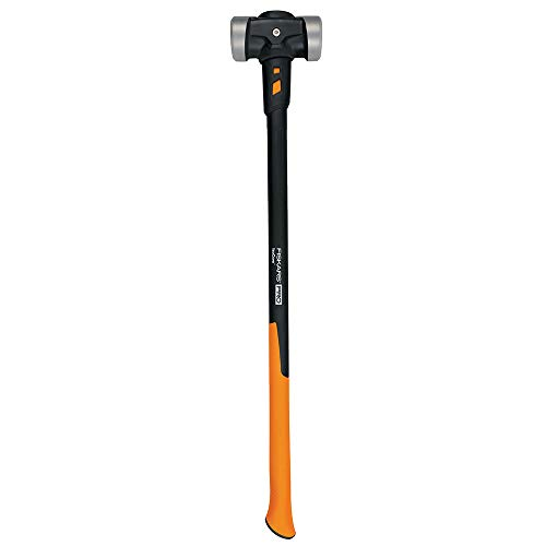 Fiskars PRO 750670-1001 IsoCore 8 lb Double Flat Face Sledge Hammer (36