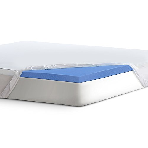 Serta 2' Lasting Dream Gel-Infused Memory Foam Mattress Topper, King