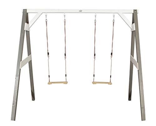 Sunny- Portique Double Gris, Grey, 254 x 160 x 207 cm