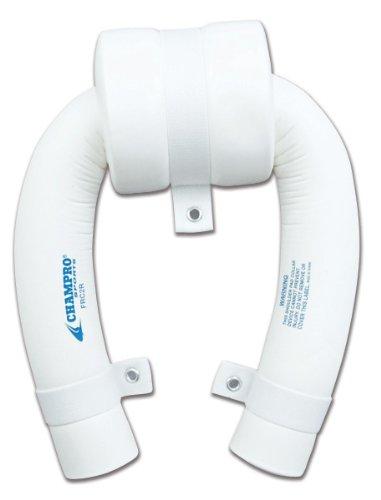 Champro Round Neck Collar with Helmet Restrictor (White, Adult/2-Inch)