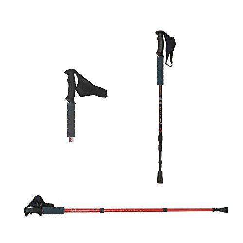 ATIPICK ota50004ng bâton de randonnée, Noir, Taille Unique