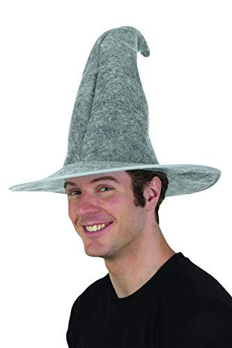 Gray Wizard Hat Adult Costume Accessory