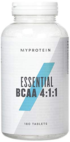 MyProtein Essential BCAA 4:1:1 Amino Acid Supplement, Pack of 180 Tablets