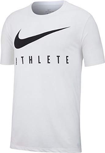 Nike Herren Dri FIT Trainingsshirt, WhiteBlack, M