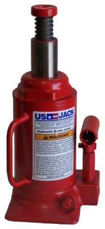 US Jack, Short/Low Profile Hydraulic Bottle/Hand Jack-12 Ton- D - 51125-5