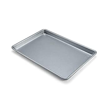 Chicago Metallic Commercial II Traditional Uncoated True Jelly Roll Pan 15-Inch by10-Inch