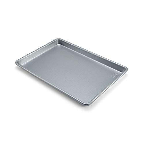 Chicago Metallic Commercial II Traditional Uncoated True Jelly Roll Pan, 15-Inch by10-Inch