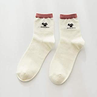 mikibana Socks For Girls White
