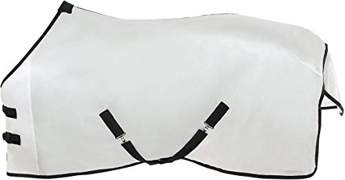 HORZE - Horse Durafit Fly Sheet, Stay Cool, Protect Against Insects, Great for Summer & Spring (84')