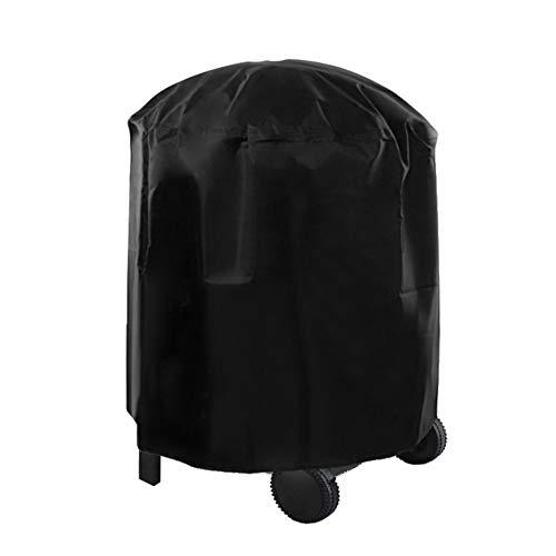 Changor Cubierta para Muebles, Cubierta para Mesa de Patio, la Parte Inferior está Equipada con un paño Oxford 210d de cordón de Nailon Hecho Adecuado (Negro)