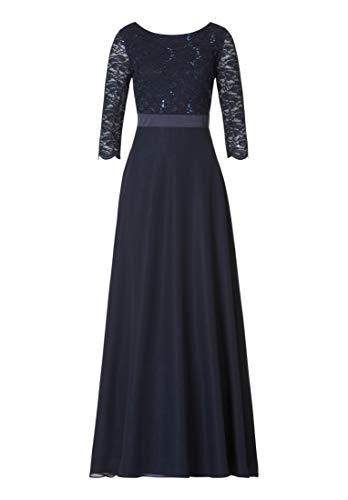 Vera Mont Damen 0090/4825 Partykleid, Blau (Night Sky 8541), (Herstellergröße: 50)