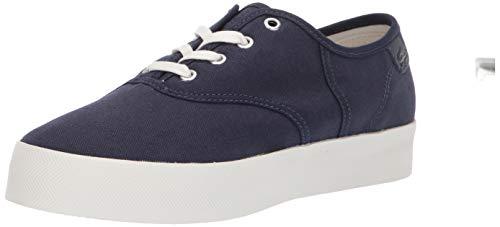 Lacoste Women's Rene Sneaker, Navy/Off White, 9.5 Medium US