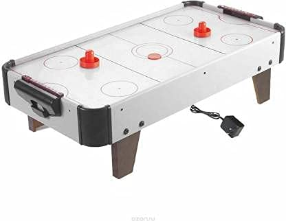 Clutch Zone Air Hockey Game Air Hockey Table Ice Hockey Game 220V Electric Wall Adapter Powered Indoor Game.(80.5cm X 42cm X 23.5cm)
