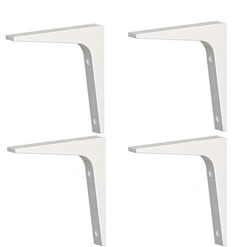 "Ikea Shelf Bracket Ekby Stodis (4 Pack) White 6.75 X 6.75"""