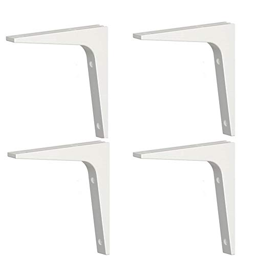 Ikea Shelf Bracket Ekby Stodis (4 Pack) White 6.75 X 6.75
