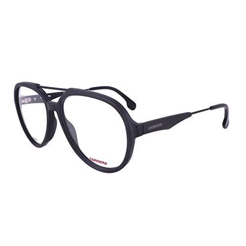 Carrera CA1103/V Pilot Prescription Eyeglass Frames, Matte Black, 56 mm