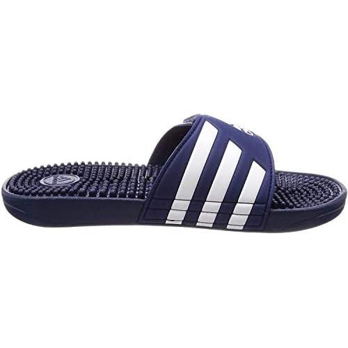 Adidas Adissage, Ciabatte Unisex – Adulto, Blu/Bianco/Blu, 37 EU