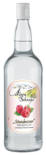 Alpenschnaps Steinbeisser Himbeere 3 x 1,0l