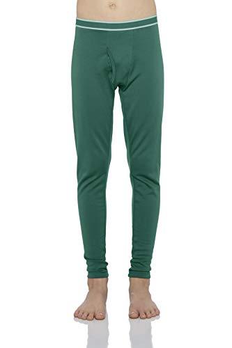 Rocky Boy's Fleece Lined Thermal Leggings Long Underwear Kids Base Layer Bottom Pants Jade