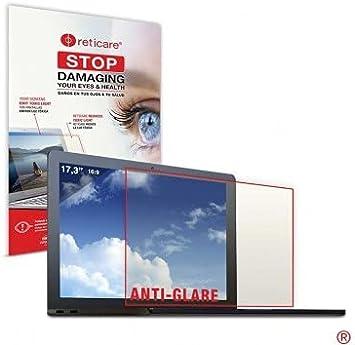 RETICARE 351L-3501-B Protector Ocular luz Azul para portátil de 17.3'', High