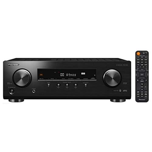 Pioneer VSX-534D Ricevitore (5x150 Watt, DAB/DAB+, Dolby Atmos, DTS:X, Dolby Atmos Height Virtualizer, calibrazione automatica MCACC, Advanced Sound Retriever, Bluetooth, USB) Nero