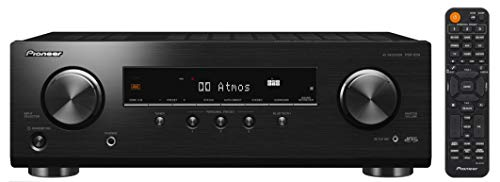 Pioneer VSX-534D(B) Receiver (5x150 Watt, Dolby Atmos, DTS:X, MCACC, Advanced Sound Retriever, AM/FM, DAB/DAB+, Bluetooth, USB) Schwarz
