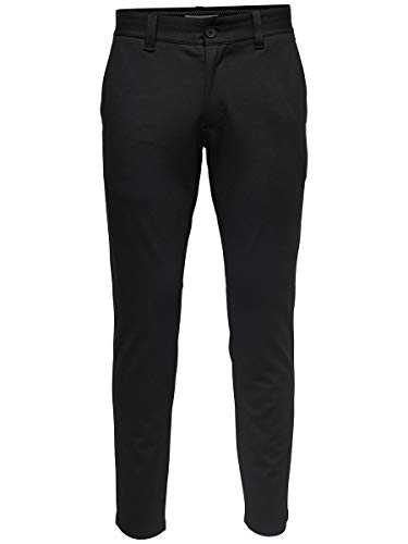 ONLY & SONS Herren Chino Mark 3434Black