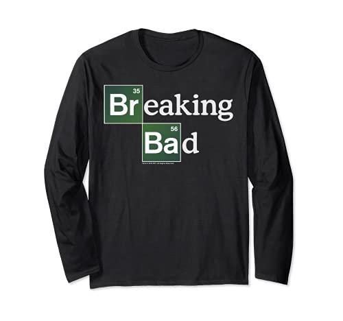 Breaking Bad Periodic Square Logo Maglia a Manica