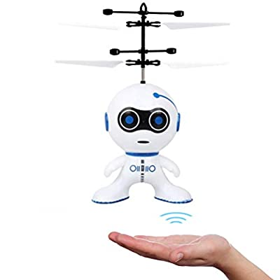 WINBST Flying robot RC flying ball toy helicopter drone gifts for boys and girls, indoor and outdoor games