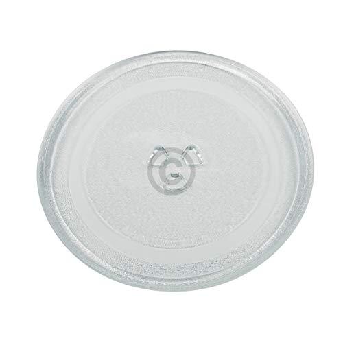 VIOKS Mikrowellenteller Teller Drehteller Glasteller für Mikrowelle Herd Universal Durchmesser: 245 mm 24,5 cm