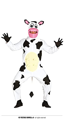 Guirca - kostium dla dorosłych krowy, rozmiar 52-54 (84604.0)