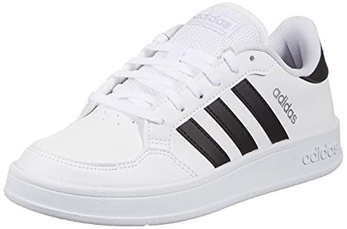 adidas Damen BREAKNET Tennisschuhe, Ftwbla/Negbás/Plamet, 41 1/3 EU