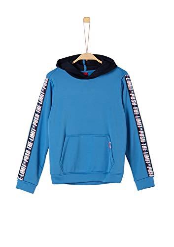s.Oliver Jungen 61.908.41.2556 Sweatshirt, Blau (Blue 5542), (Herstellergröße:M/REG)