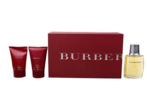 Burberry Classic Geschenkset homme/men, Eau de Toilette Vaporisateur/Spray 100 ml, Duschgel 100 ml, Aftershave Balm 100 ml, 1er Pack (1 x 300 ml)