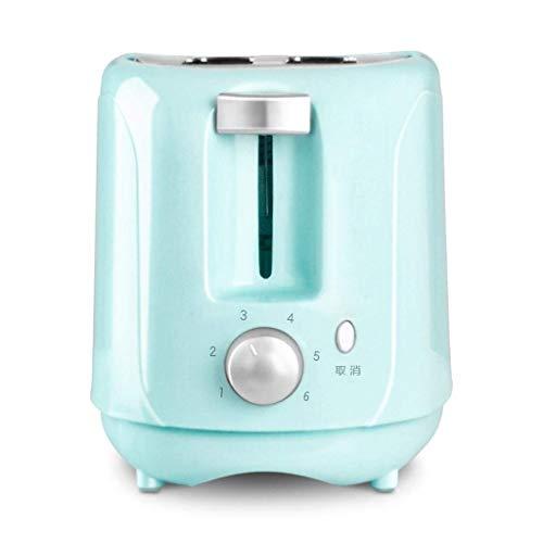 Tostadora 2 Rebanada Toast El hogar para Hornear automáticamente la máquina de Desayuno, diseño de Ranura Ancha con Cubierta de Polvo y Pan de Pan: A (Paquete de 2) kshu (Color : A)